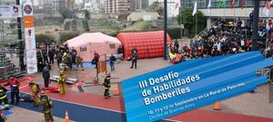 (foto) III Desaf�o de Habilidades Bomberiles