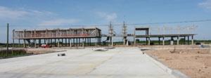 (foto) El Sistema Nacional de Bomberos celebra grandes avances en la construcci�n del Centro de Entrenamiento