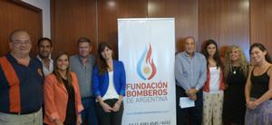 (foto) Reuni�n del Comit� Ejecutivo de Fundaci�n Bomberos de Argentina (FBA)