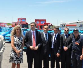 Los Bomberos son parte fundamental del Operativo de Seguridad Vial Verano 2013