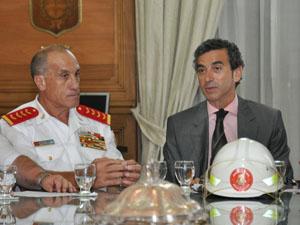Los bomberos en la agenda del Estado: Incremento en el financiamiento 2013