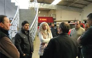 Autoridades del ministerio de Seguridad visitaron La Pampa