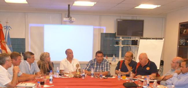 Reunión de Mesa Ejecutiva en la sede del Consejo Nacional