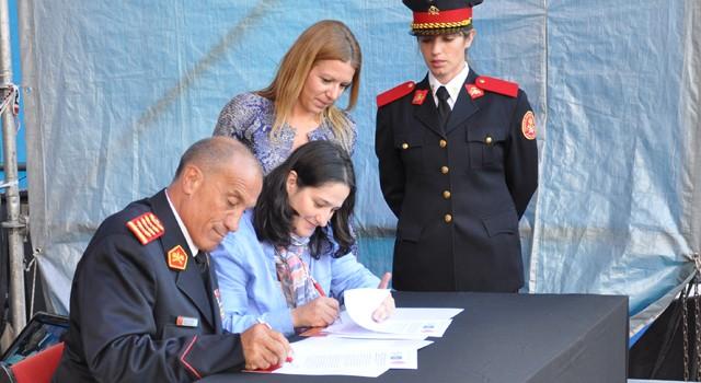 El Consejo Nacional firmó un convenio de Cooperación con el Consejo Nacional de las Mujeres