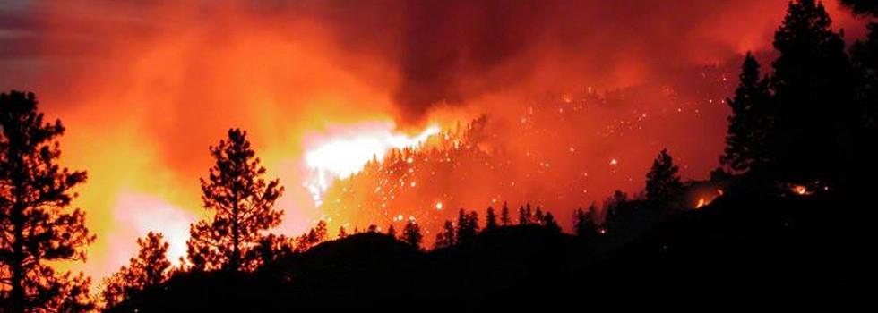 Bomberos contienen incendio en Río Negro