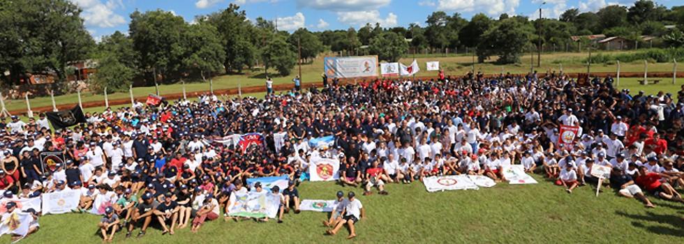 1600 cadetes se reunieron en Misiones
