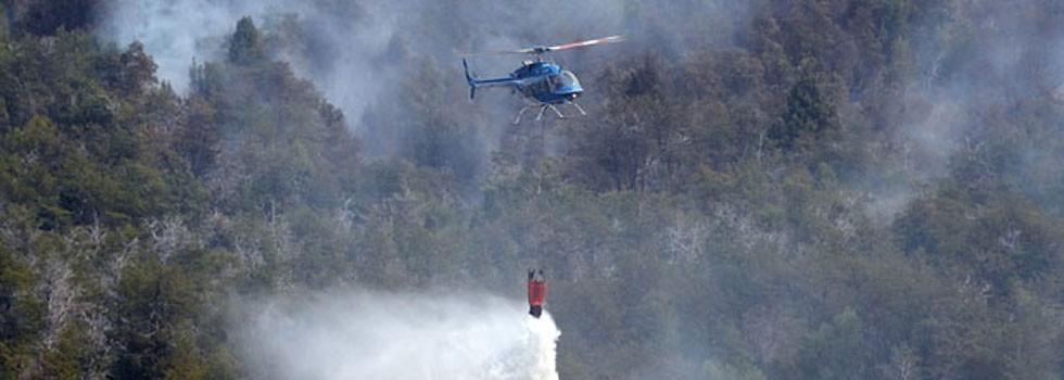 El incendio en Chubut ya arrasó con 15 mil hectáreas de bosque