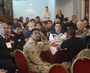Bomberos voluntarios de la región noroeste se reunieron ayer en Jujuy