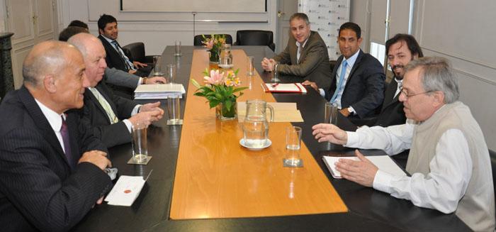 Importante reunión de trabajo en el Ministerio de Seguridad