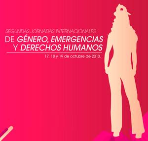 2ª Jornadas Internacionales de Género, Emergencias y Derechos Humanos