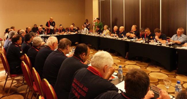 Se renovaron las autoridades del Consejo Nacional de Bomberos