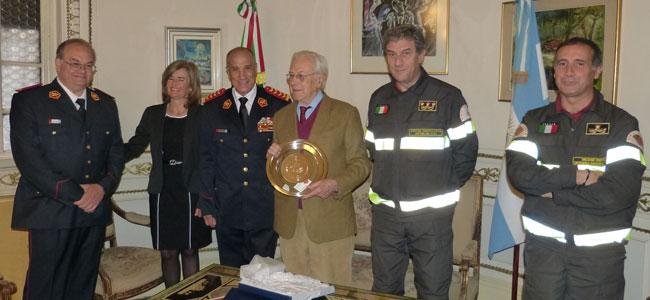 El Consejo Nacional de Bomberos firmó histórico Convenio con el Dipartimento dei Vigili del Fuoco en Roma