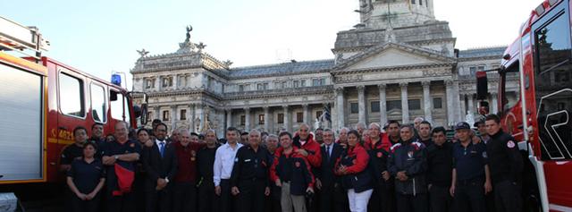 La Ley de bomberos voluntarios es una realidad