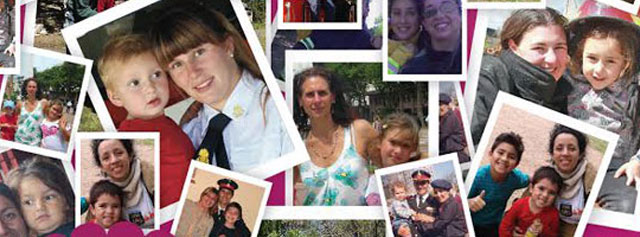 Mamás y bomberas: cuando la entrega es una forma de vida