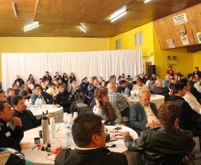 Tuvo lugar en Plottier un encuentro de Bomberos Voluntarios