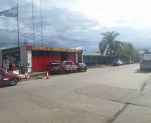 Los Bomberos Voluntarios de toda la provincia se reunieron en San Salvador