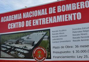 El Centro de Entrenamiento de Bomberos fue declarado de Interés Legislativo por el Senado provincial