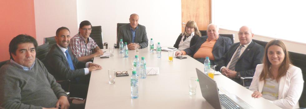 Reunión con el nuevo Subsecretario de Protección Civil