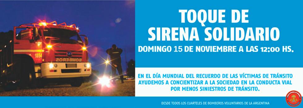Toque de Sirena Solidario