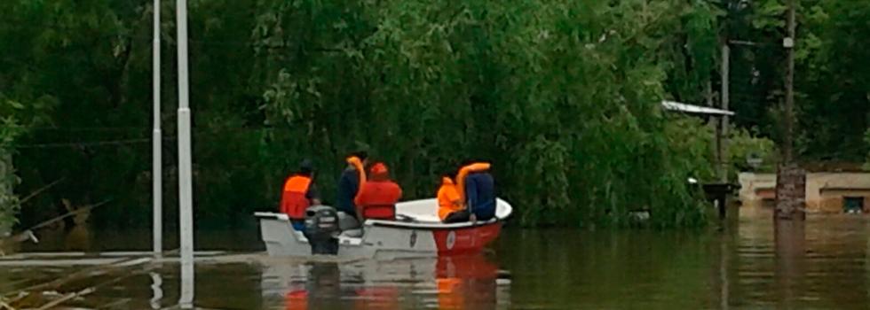 El Sistema Nacional de Bomberos Voluntarios fundamental en las tareas por las inundaciones del Litoral