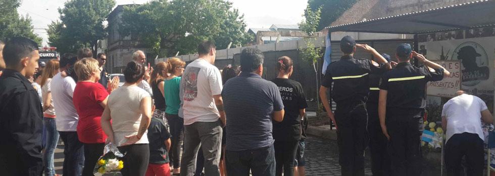 Fundación Bomberos de Argentina acompañó a familiares de los caídos en Iron Mountain