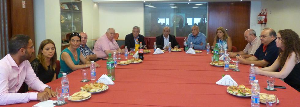 Autoridades del Ministerio de Seguridad de la Nación visitaron el Consejo Nacional