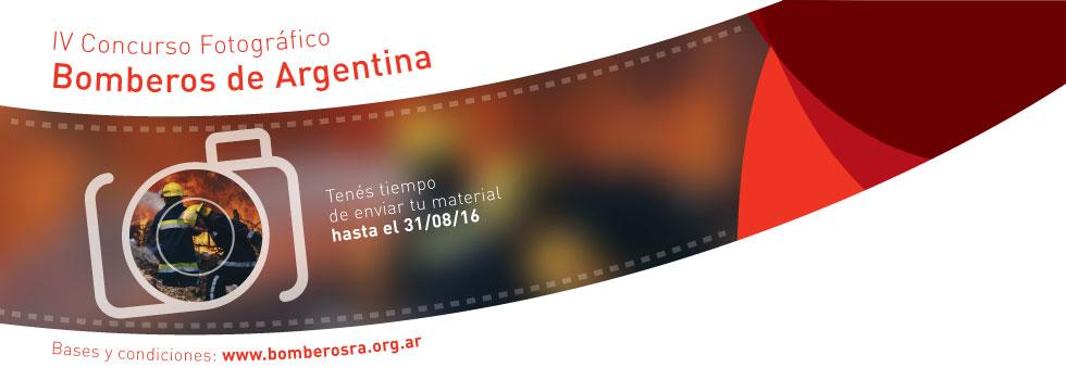 IV Concurso Fotográfico Bomberos de Argentina