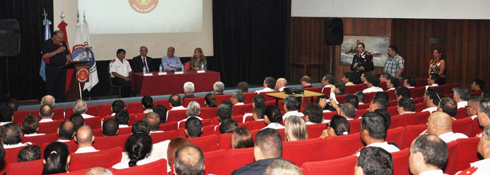 El Consejo Nacional y la Academia de Bomberos comenzaron el año con planificación y gran agenda