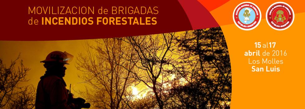 1º Encuentro Nacional de Brigadas de Incendios Forestales