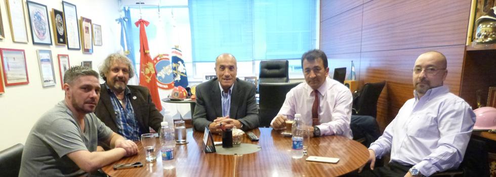 Autoridades de Tierra del Fuego se reunieron con el presidente del Consejo Nacional