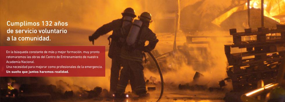 Bomberos voluntarios de Argentina: 132 años al lado de la gente