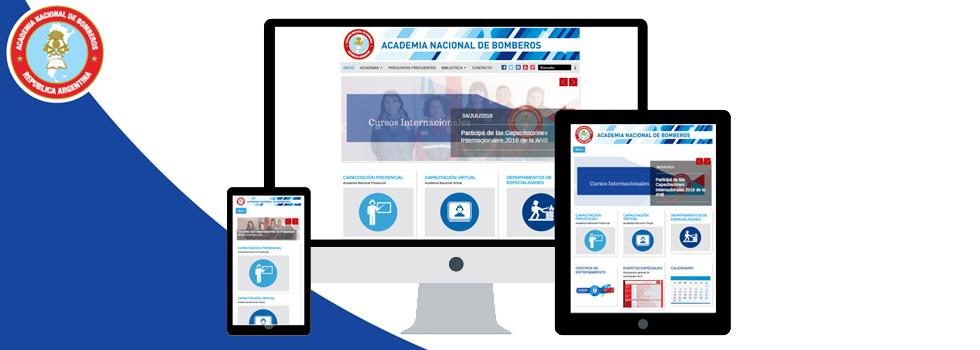 La Academia Nacional tiene nuevo sitio web