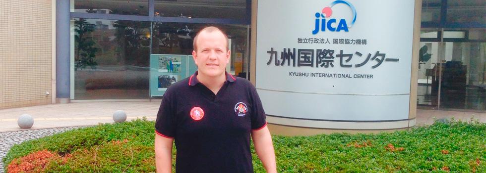Bombero argentino obtuvo beca de estudios en Japón
