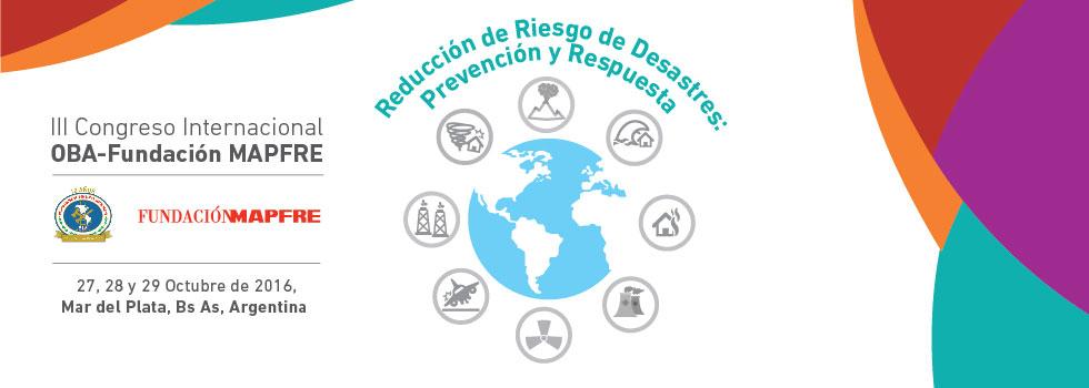 Cuenta regresiva para el Congreso de Reducción de Riesgo de Desastres
