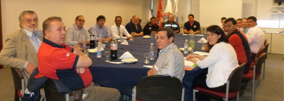 El Consejo Nacional acompaña a bomberos de Entre Ríos y Corrientes para reforzar relación con concesionaria vial
