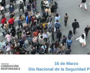 Día de la Seguridad Peatonal: el tránsito seguro lo hacemos entre todos