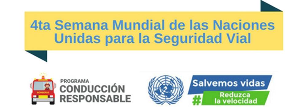 """Semana Mundial para la Seguridad Vial: """"Reducir la velocidad para salvar vidas"""""""