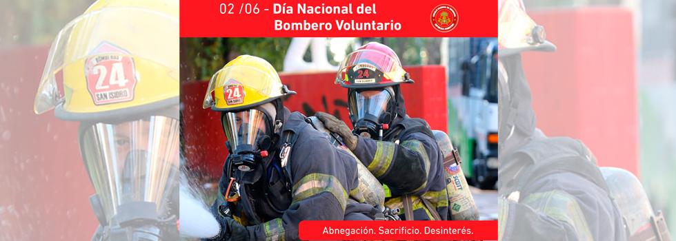 Día Nacional del Bombero Voluntario