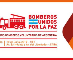 El sábado 10 de Junio celebramos el Día Nacional del Bombero Voluntario en Palermo