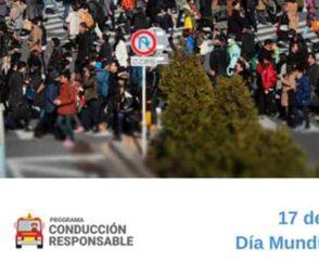 Día Mundial del Peatón: todos debemos circular responsablemente
