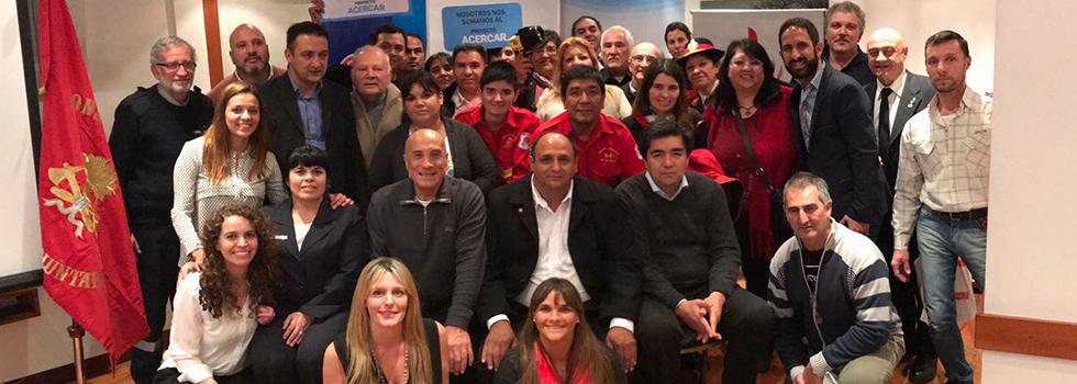 Bomberos de Mendoza, San Juan y San Luis recibieron la visita del Proyecto ACERCAR