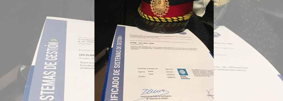 Por tercera vez consecutiva alcanzamos la certificación IRAM 9001:2008