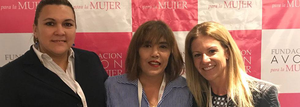 Bomberos presentes en la entrega de Premios Mujeres Solidarias