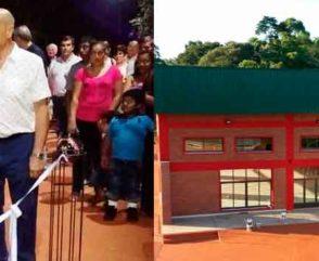 Ferlise presente en el aniversario de Asociación de Bomberos Voluntarios de Montecarlo