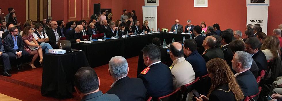 El Sistema Nacional de Bomberos Voluntarios presente en la reunión del SINAGIR