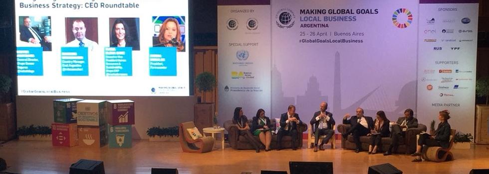 El Programa Gestión de Riesgos participó del mayor evento organizado por la Red Argentina de Pacto Global