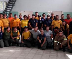 RUBA: Capacitación para las Asociaciones de Bomberos Voluntarios de Agrupación Serrana