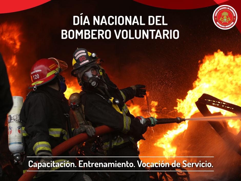 02 de Junio. Día Nacional del Bombero Voluntario