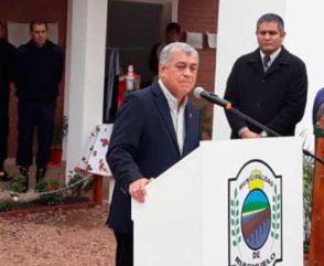 Alfonso participó de la inauguración del cuartel de Riachuelo