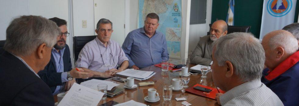 Continúan las reuniones de trabajo junto a la Secretaría de Protección Civil